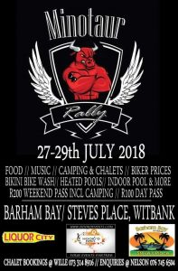 MINOTAUR RALLY 2018 @ BARHAM BAY/STEVES PLACE, WITBANK  | Emalahleni | Mpumalanga | South Africa