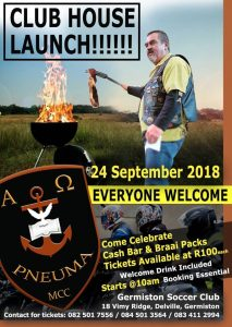 Club House Launch @ Germiston | Gauteng | South Africa