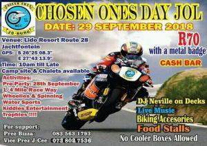 CHOSEN ONES DAY JOL @ LIDO RESORT ROUTE 28