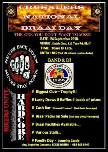 CRUSADERS NATIONAL BRAAI DAY @ DUTCH CLUB  | Bluff | KwaZulu-Natal | South Africa