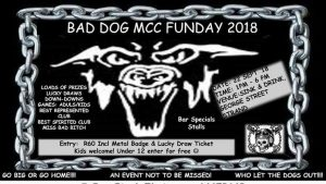 BAD DOG MCC FUNDAY 2018 @ SINK & DRINK  | Cape Town | Western Cape | South Africa