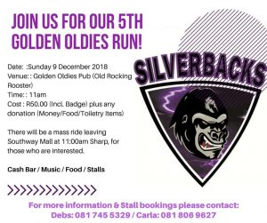 5th Golden Oldies Run @ GOLDEN OLDIES