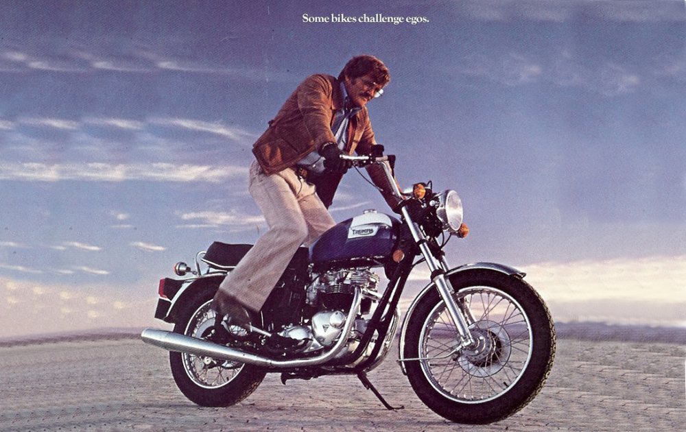 Motorcycle Advertising from the 1970's - ZA Bikers