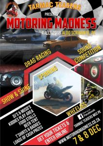 Motoring Madness Rally 2018 @ Aldo Scribante Race Track  | Port Elizabeth | Eastern Cape | South Africa
