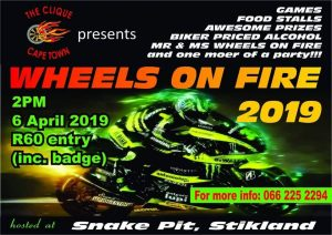 Wheels On Fire Dayjol @ The Snake Pit  | Cape Town | Western Cape | South Africa