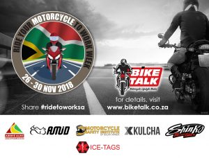 SA Ride your Motorcycle to Work Week