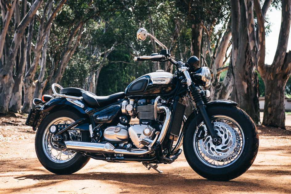 The Triumph Bonneville Speedmaster Za Bikers