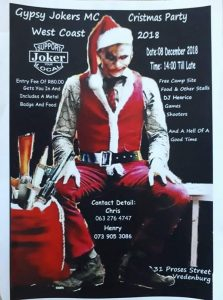 Gypsy Jokers MC Christmas Party @ Cape Town   Western Cape   South Africa
