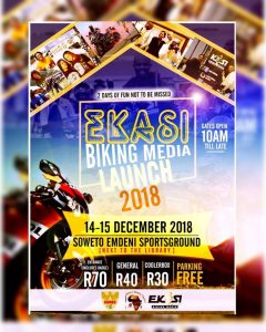 Ekasi Biking Media Launch @ Soweto Emdeni Sportsground  | Soweto | Gauteng | South Africa