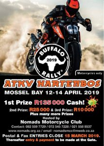 Buffalo Rally 2019 @ ATKV Hartenbos  | Mossel Bay | Western Cape | South Africa