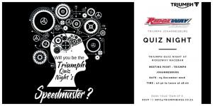 Triumph Quiz Night @ Ridgeway Racebar