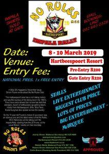 No Rules Impala Rally @ Hartbeespoort Holiday Resort