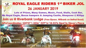 Royal Eagle Riders 1st Biker Jol 2019 @ Riverbank Lodge