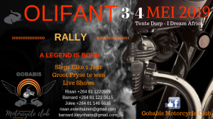 Olifant Rally @ Gobabis Motorcycle Club