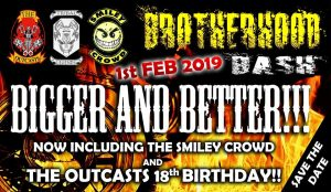 Brotherhood Bash, The Outcasts 18th Birthday