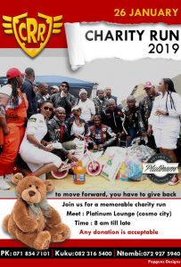 CRR Memorable Charity Run @ Platinum Lounge