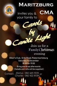 Carols by Candle Light @ Bikers Club
