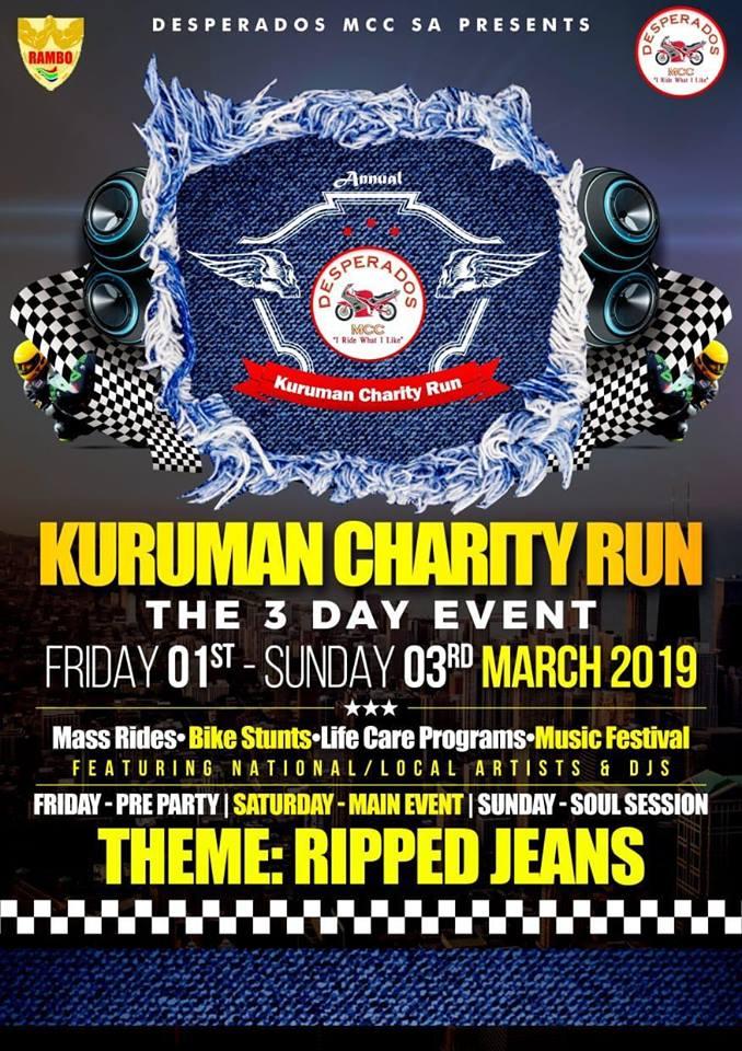 Kuruman Charity Run - ZA Bikers