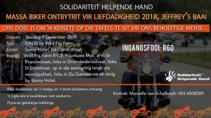 Solidariteit Helpende Hand Mass Ride @ Wild Fig Farm