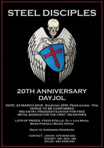 Steel Desciples 20th Anniversary Day Jol