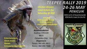 Teepee Rally 2019 @ Penicuik