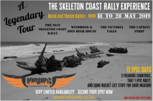 The Skeleton Coast Rally Experience @ Skeleton Coast