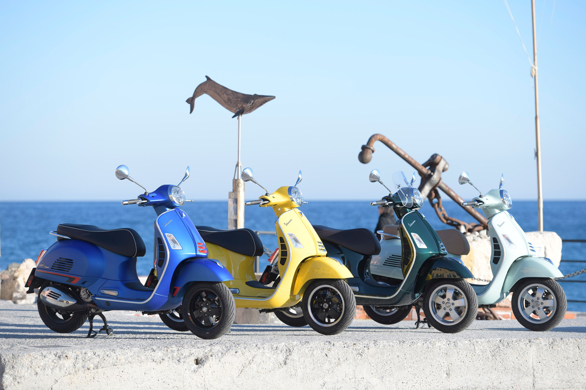 First Ride: 2019 Vespa GTS 300 HPE - ZA Bikers