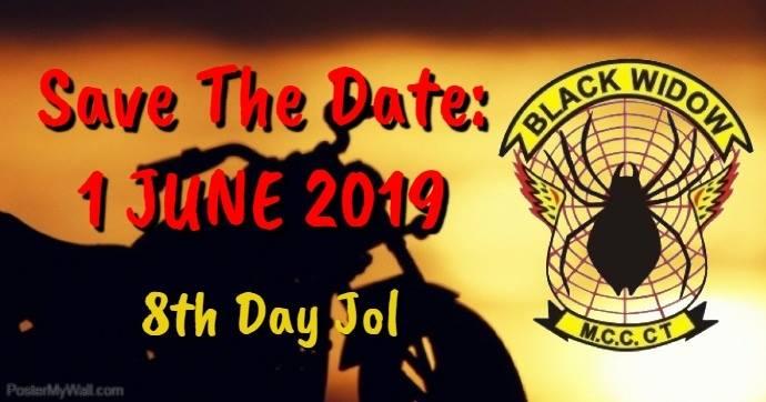 Black Widow Mcc CT 8th Day Jol - ZA Bikers