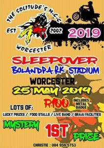 The Solitude's Mcc Worcester Sleepover @ Bolanpark Stadium