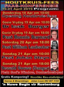 Houtkruis-Fees Paas- Konferensie @ God's Window