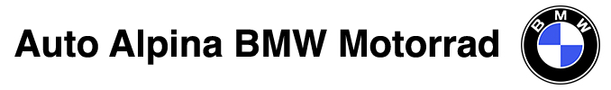 Auto Alpina BMW Motorrad