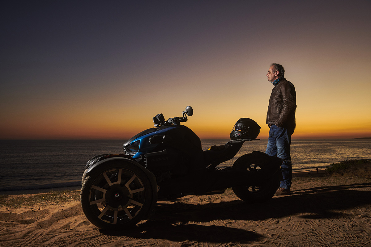 Riding Can-Am's Ryker 900 Rally Edition - ZA Bikers