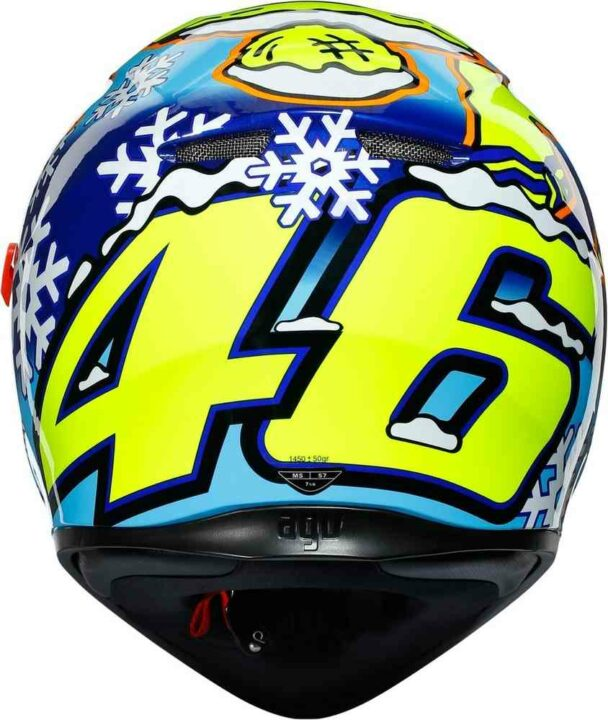 AGV K3 SV – ROSSI WINTER TEST 2016