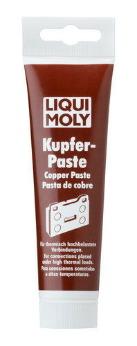 Copper Paste High Thermal Load Lubrication