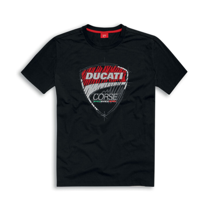 Corse Graphic Black T-shirt