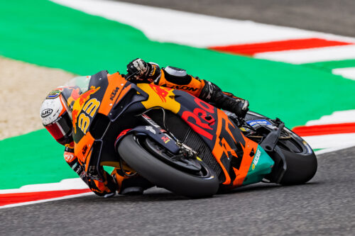 Brad Binder will remain part of the Red Bull KTM Factory